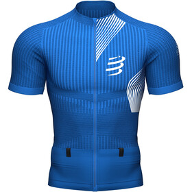 Compressport Trail Postural SS Top Men, blue lolite
